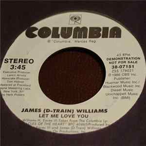 James (D-Train) Williams - Let Me Love You flac