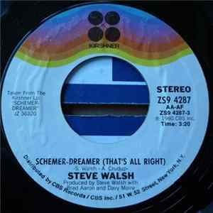 Steve Walsh - Schemer-Dreamer (That's All Right) / Just How It Feels flac