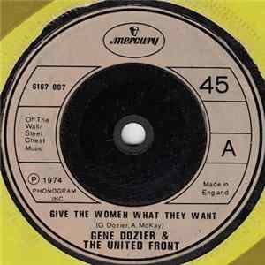 Gene Dozier & The United Front - Give The Women What They Want flac