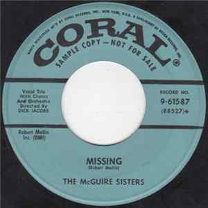 McGuire Sisters - Missing flac
