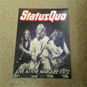 Status Quo - Live At The Marquee 1972 flac