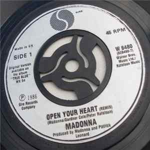 Madonna - Open Your Heart flac
