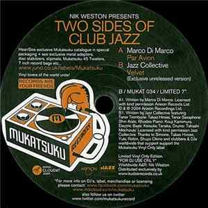 Nik Weston Presents Marco Di Marco / Jazz Collective - Two Sides Of Club Jazz flac