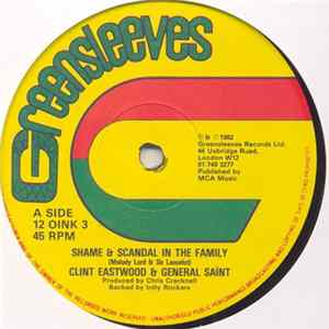 Clint Eastwood & General Saint - Shame & Scandal In The Family flac