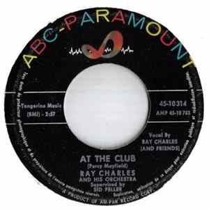 Ray Charles And His Orchestra - At The Club / Hide 'Nor Hair flac