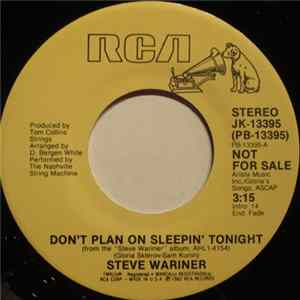 Steve Wariner - Don't Plan On Sleepin' Tonight flac