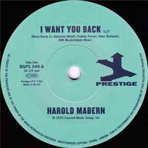 Harold Mabern / Funk Inc. - I Want You Back / Sister Janie flac